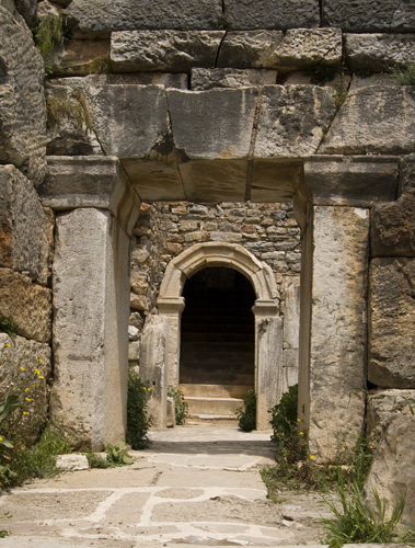 Entrance to Ephesus\' odeum