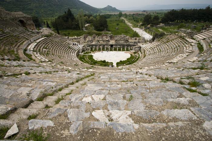 Ephesus\' main theatre