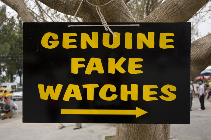 Genuine fake watches?