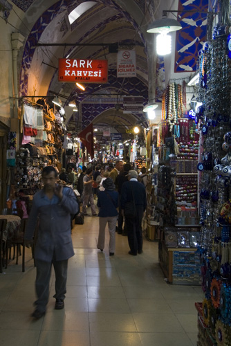 The maze of the Grand Bazaar