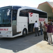 The bus from Antalya to Fethiye