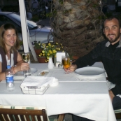 Grabbing a bite to eat in Bodrum