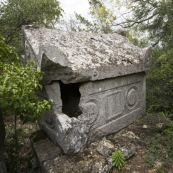 Tombs in Termessos\' northeast necropolis