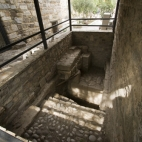 One of the Bodrum castle\'s baths