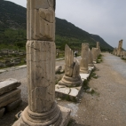 Colonnaded street at Ephesus