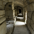 One of the entrances to Ephesus\' main theatre