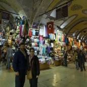 ET and Sally in the Grand Bazaar