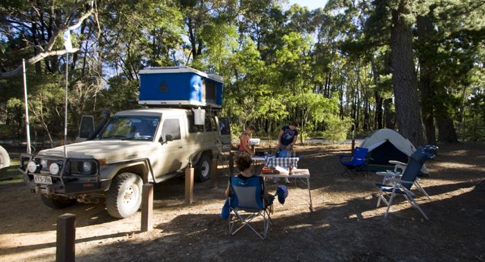 Smith Mill campsite