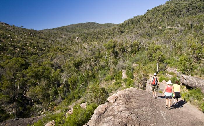 Hiking to The Pinnacles