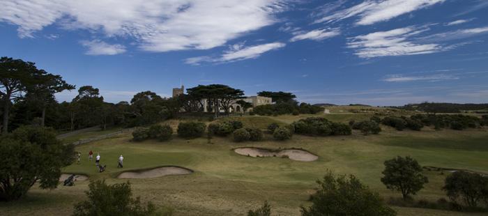 The golf club at Portsea