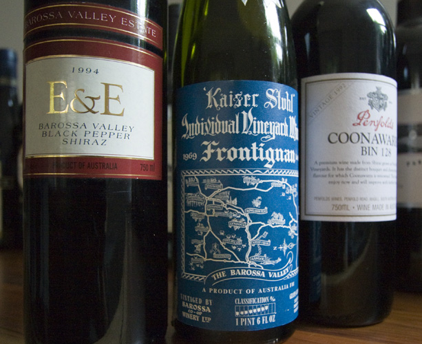 A few of the standouts from the 42 bottles of wine