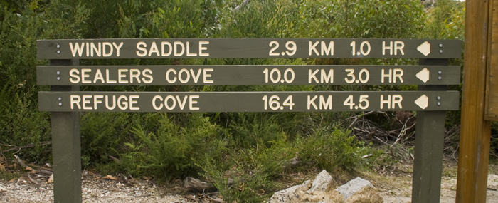 Hiking to Sealers Cove
