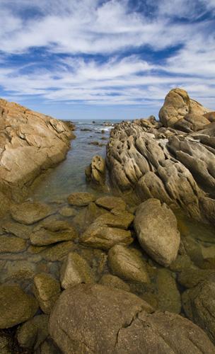 Salmon Rocks by Cape Conran