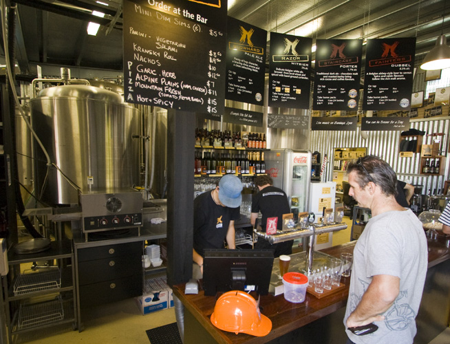 The Bright Brewery: hard to pass up a mountain brewhouse