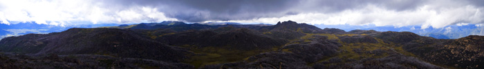 270 degree view from The Horn of the Mount Buffalo plateau