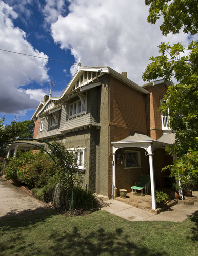 The Detmold family home in Echuca