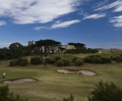 The golf club at Portsea