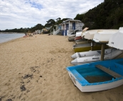 The beach at Portsea