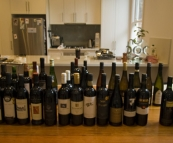 The wine waiting for us from Sam's dad when we arrived in Melbourne!