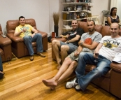 Ben, Tom, Jarrod, Sam and Greg in Melbourne