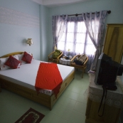 Our hotel room in Hoi An at Hoang Trinh