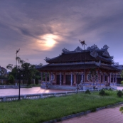 The Confucious Temple next to our hotel