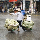 A common sight throughout Vietnam