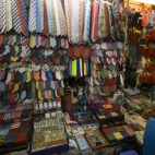 See if you can spot the shopkeeper amongst her ties