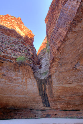 The end of Cathedral Gorge