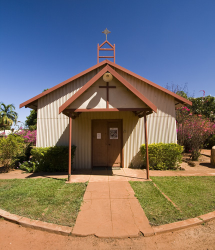 The Kalmuburu Mission church