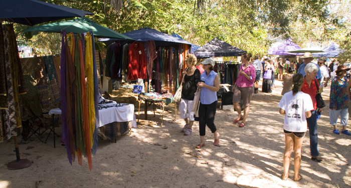 Broome markets on Saturday and Sunday mornings