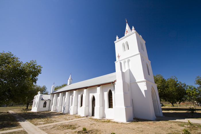 The church at Beagle Bay
