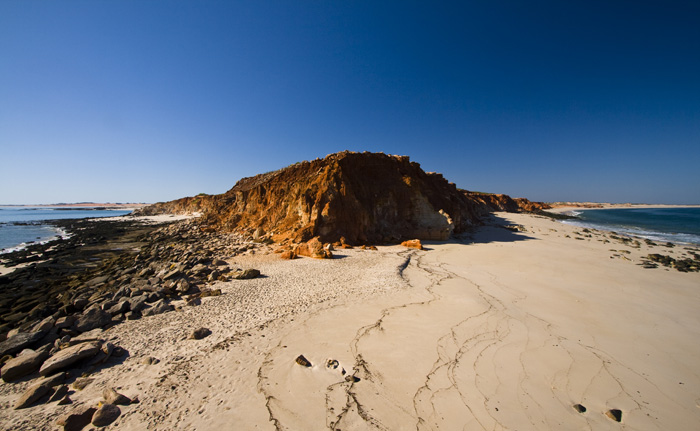 The tip of Cape Leveque