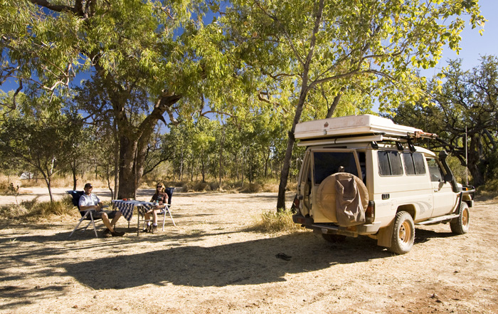 Our campsite for the first couple of nights in Purnululu National Park