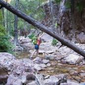 Lisa in El Questro Gorge
