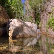 The halfway pool in El Questro Gorge