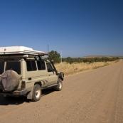 The Gibb River Road between El Questro and Elenbrae