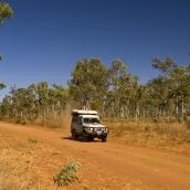 Heading north up the road to Kalumburu