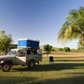 Camping at Kalumburu Mission