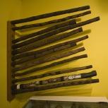 Didgeridoos in the Kalumburu Mission museum