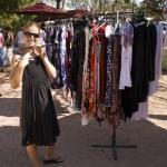 Lisa at the Broome markets