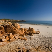 The eastern beach at Cape Leveque
