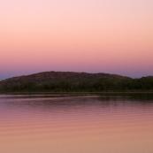 Sunset over Lake Kununurra