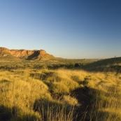 The Bungle Bungle Range illuminated by the sunset