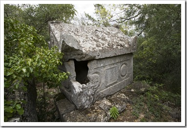 Tombs in Termessos' northeast necropolis