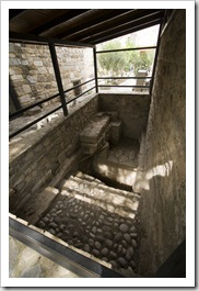 One of the Bodrum castle's baths