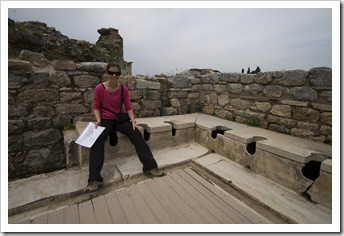 Imagining just how much waste has gone in these toilets over the last few thousand years!