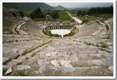 Ephesus' main theatre
