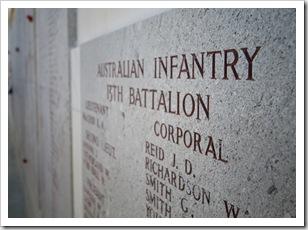 Lone Pine memorial plaques