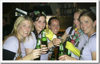The girls at Murphy's Bar